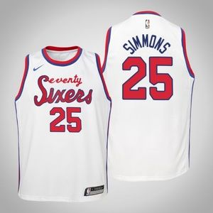 Youth Philadelphia 76ers Ben Simmons Jersey